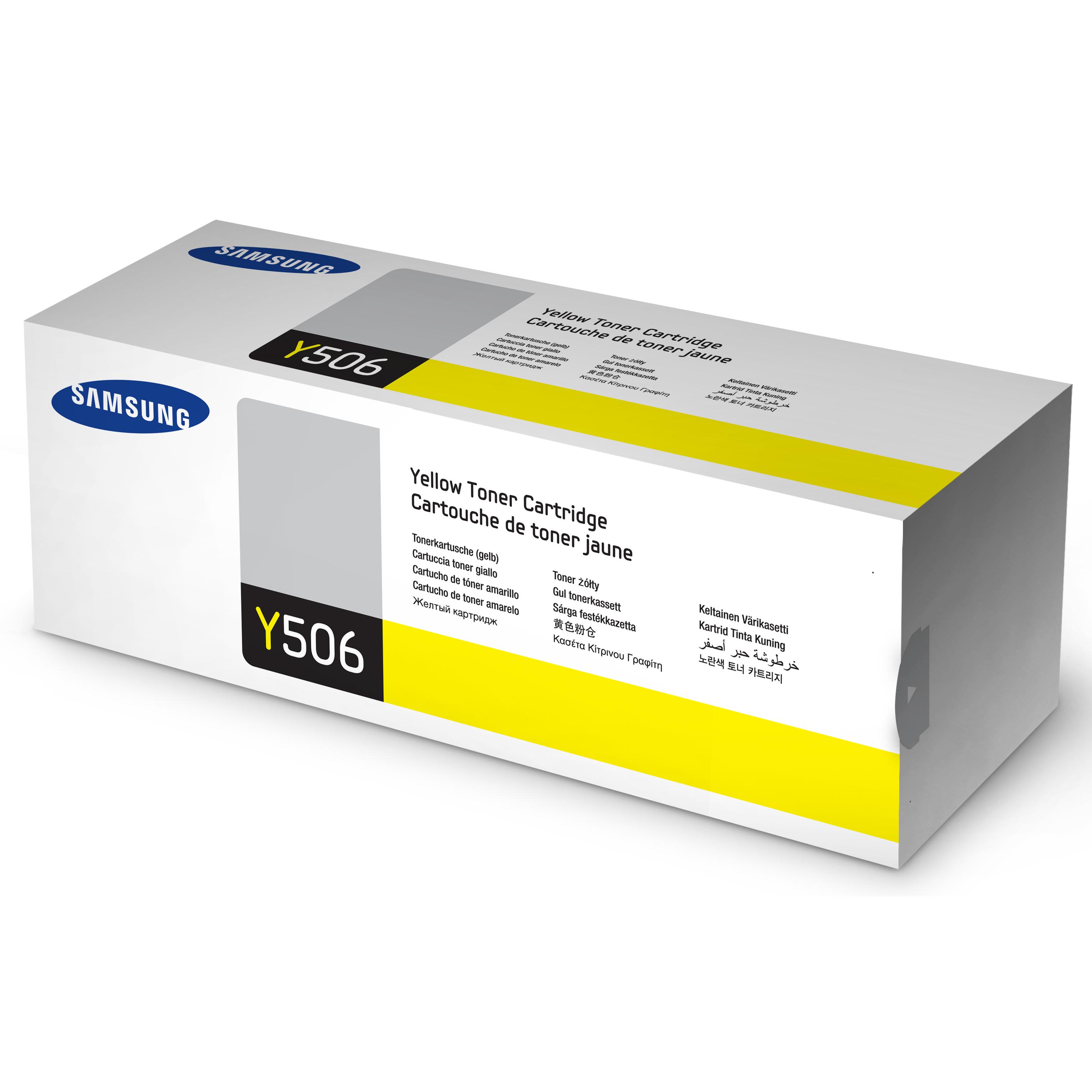 Samsung 506L Yellow Toner Cartridge (Original)