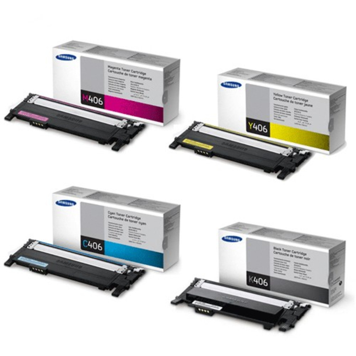 Samsung CLT-406 Bundle Pack