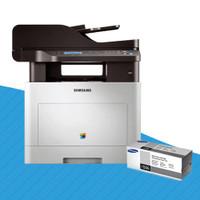 Samsung CLX-6260FW Colour Laser Printer + CLT-K506L Black Toner Cartridge