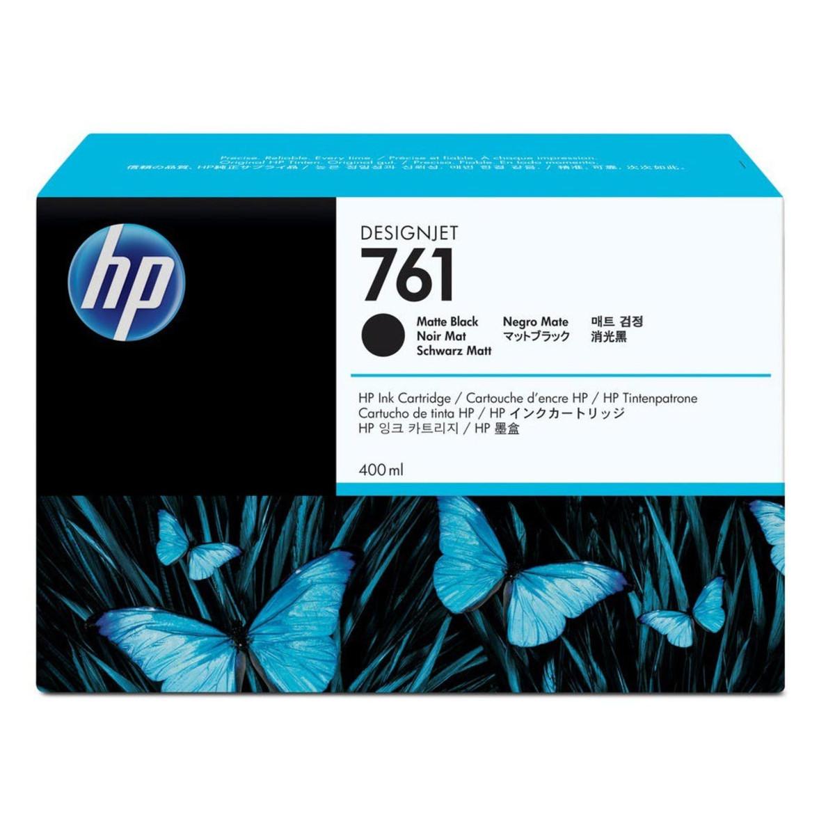 HP 761 (CM991A) Matte Black Ink Cartridge