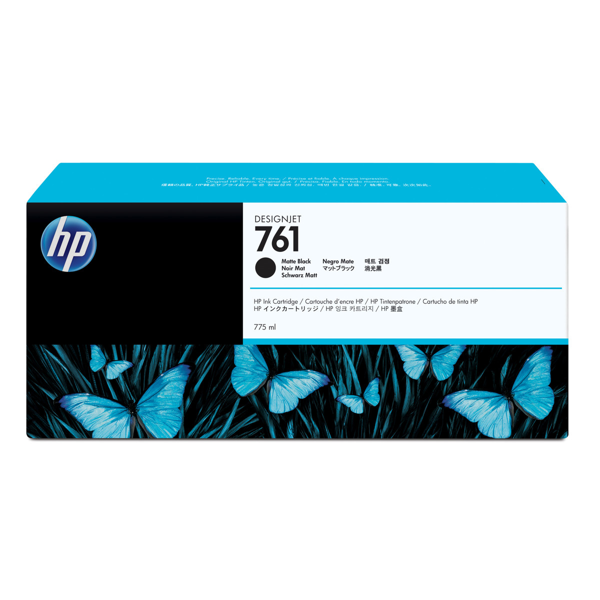 HP 761 (CM997A) Matte Black Ink Cartridge