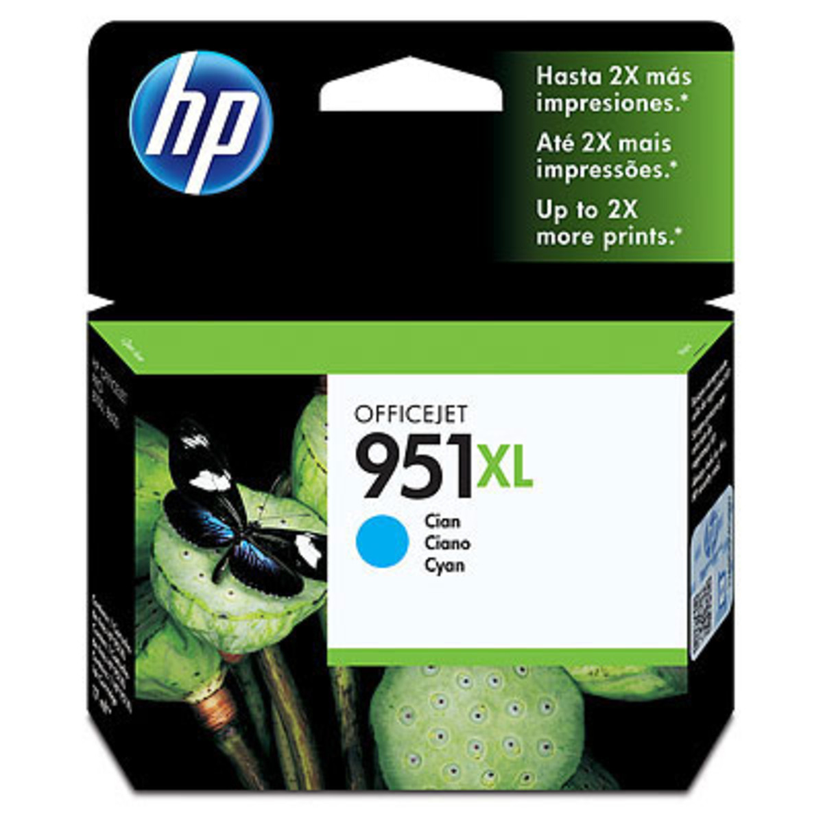HP 951XL (CN046AA) Cyan Ink Cartridge - High Yield