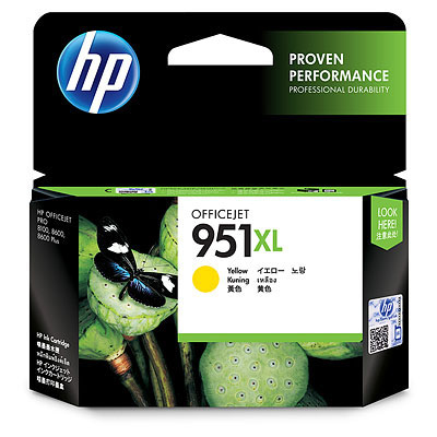 HP 951XL Yellow Ink Cartridge (Original)