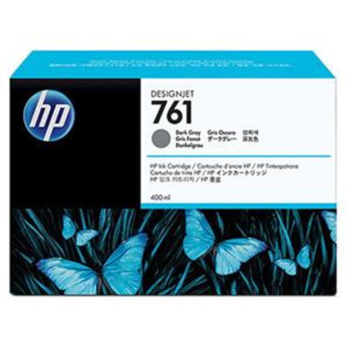 HP 761 (CN074A) Dark Grey Print Ink Cartridge