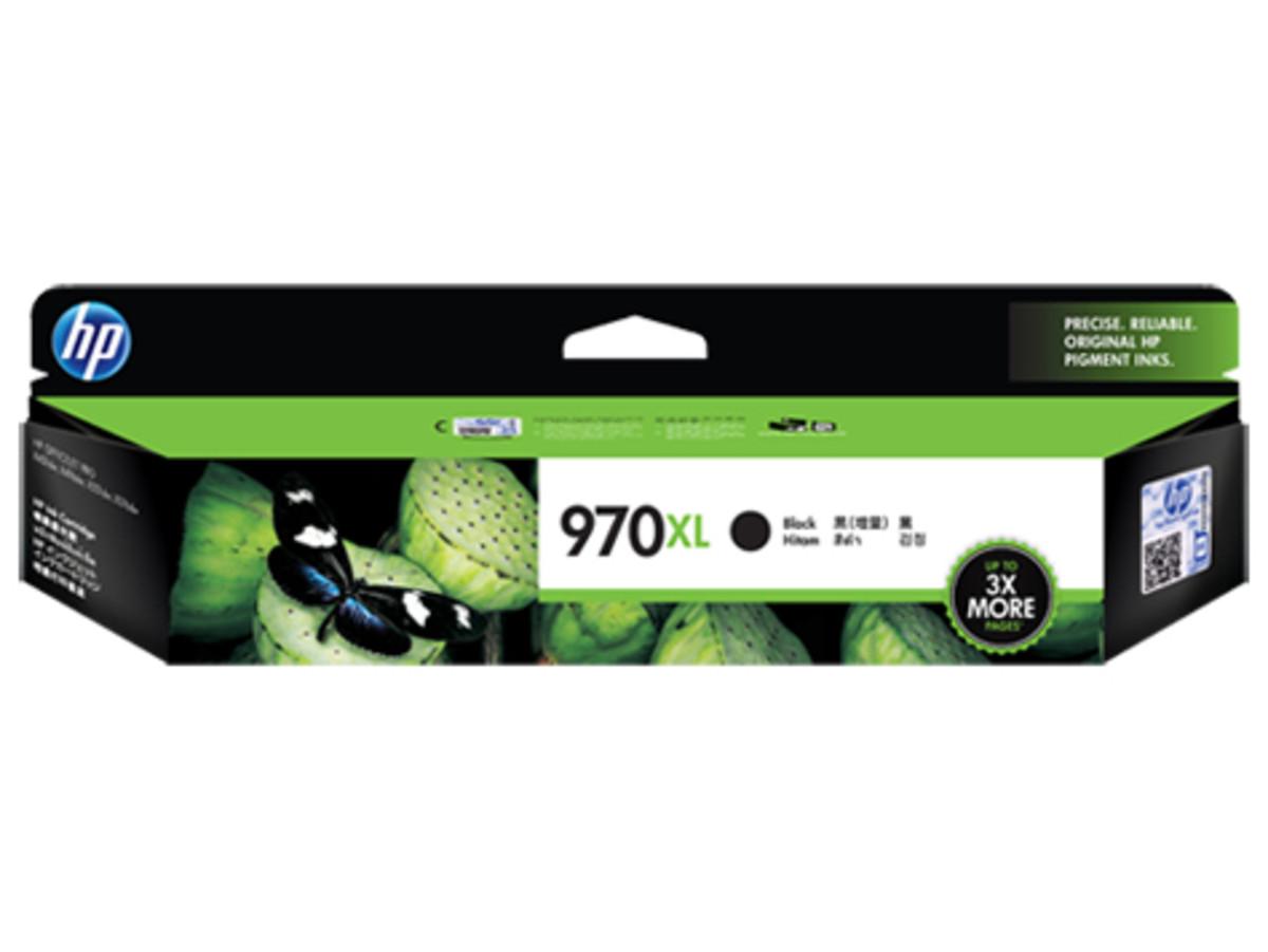 HP 970XL (CN625AA) Black Ink Cartridge - High Yield