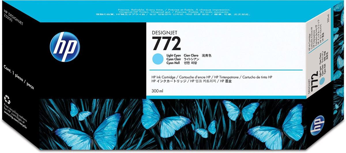 HP 772 Light Cyan Inkjet Cartridge