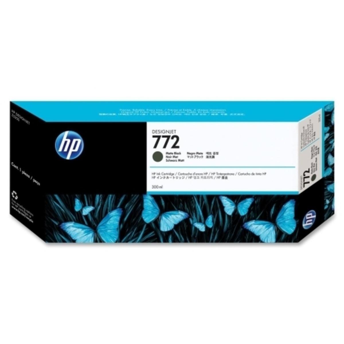 HP 772 (CN635A) Matte Black Ink Cartridge