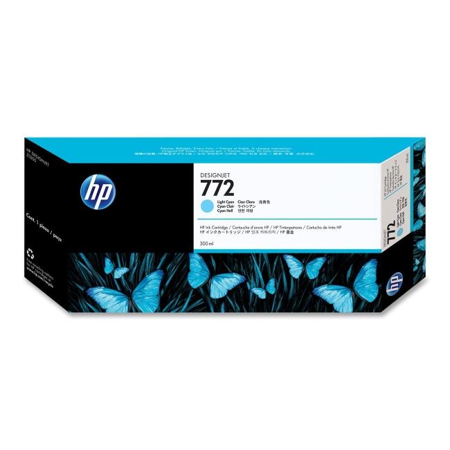 HP 772 Cyan Ink Cartridge (Original)