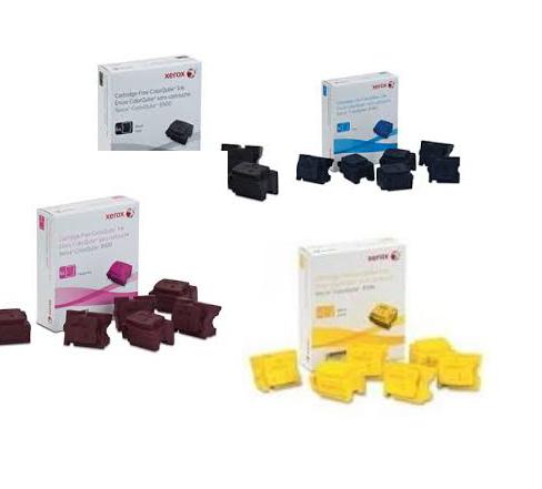 Xerox Toner Cartridges Value Pack - Includes: [1 x Black, Cyan, Magenta, Yellow]