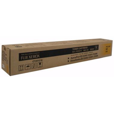 Fuji Xerox CT201216 Yellow Toner Cartridge