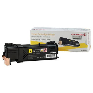 Fuji Xerox CT201635 Yellow Toner Cartridge