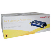 Fuji Xerox CT350677 Yellow Toner Cartridge - High Yield