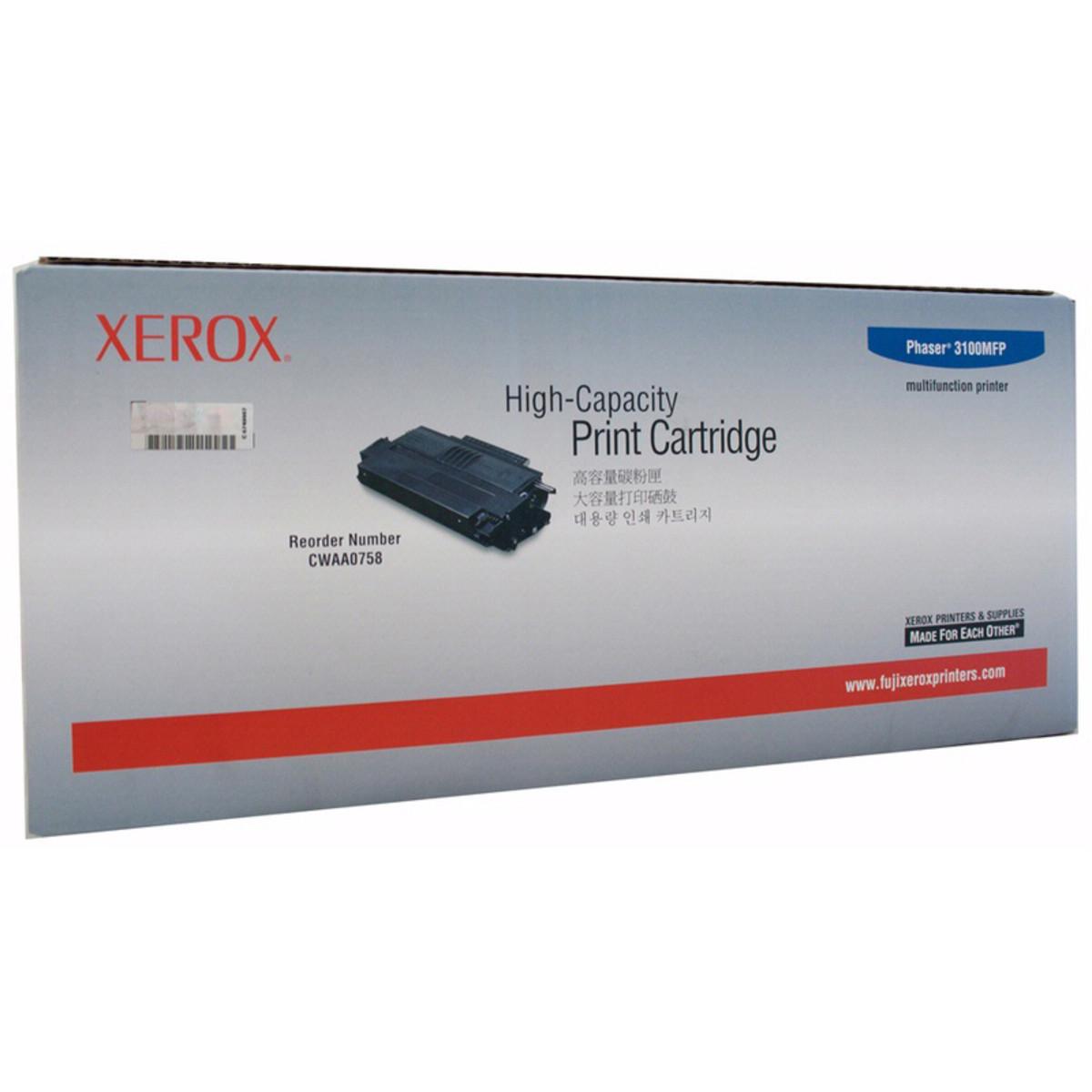 Xerox CWAA0758 Black Toner Cartridge