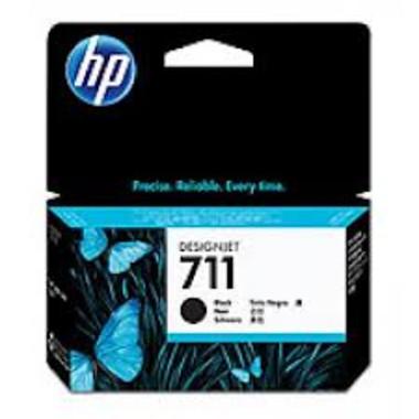 HP 711 (CZ129A) Black Ink Cartridge - 38ml