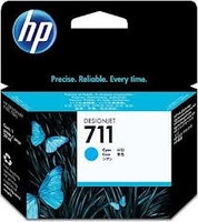 HP 711 (CZ130A) Cyan Ink Cartridge - 29ml