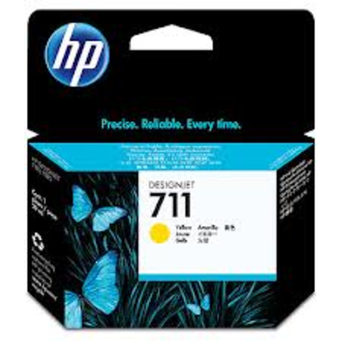 HP 711 (CZ132A) Yellow Ink Cartridge - 29ml