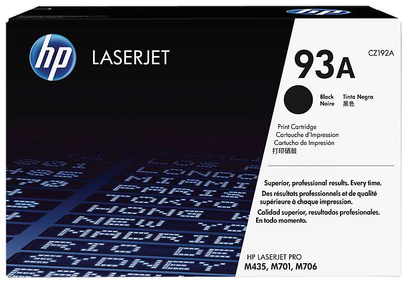HP 93A Black Toner Cartridge (Original)