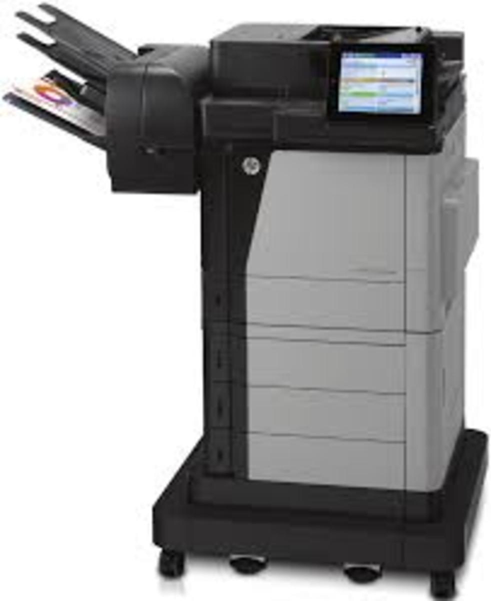 HP Colour LaserJet Enterprise Flow M680Z Printer