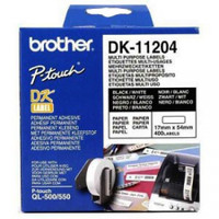 Brother DK11204 White Labels - 17x54mm