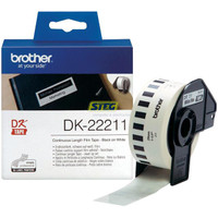 Brother DK22211 White Labels - 29mm