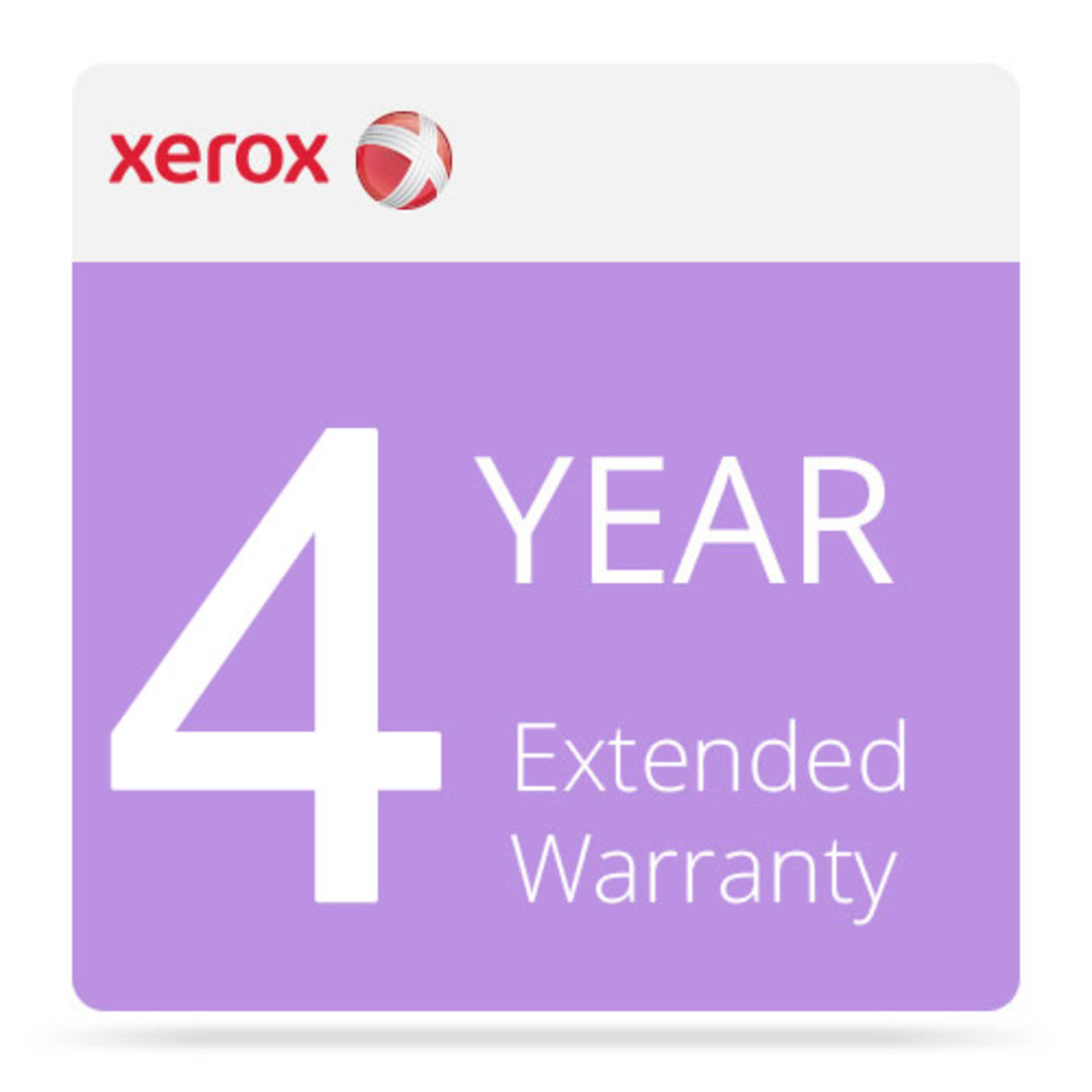 Xerox 4 Year Extended Warranty