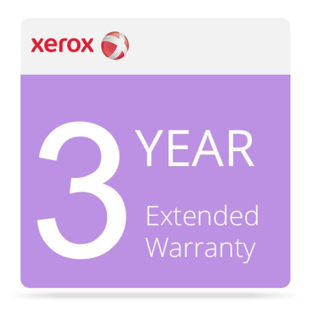 Xerox 3 Year Extended Warranty