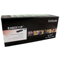Lexmark E460X11P Black Prebate Toner Cartridge