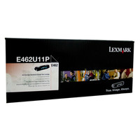 Lexmark E462 Black Prebate Toner Cartridge