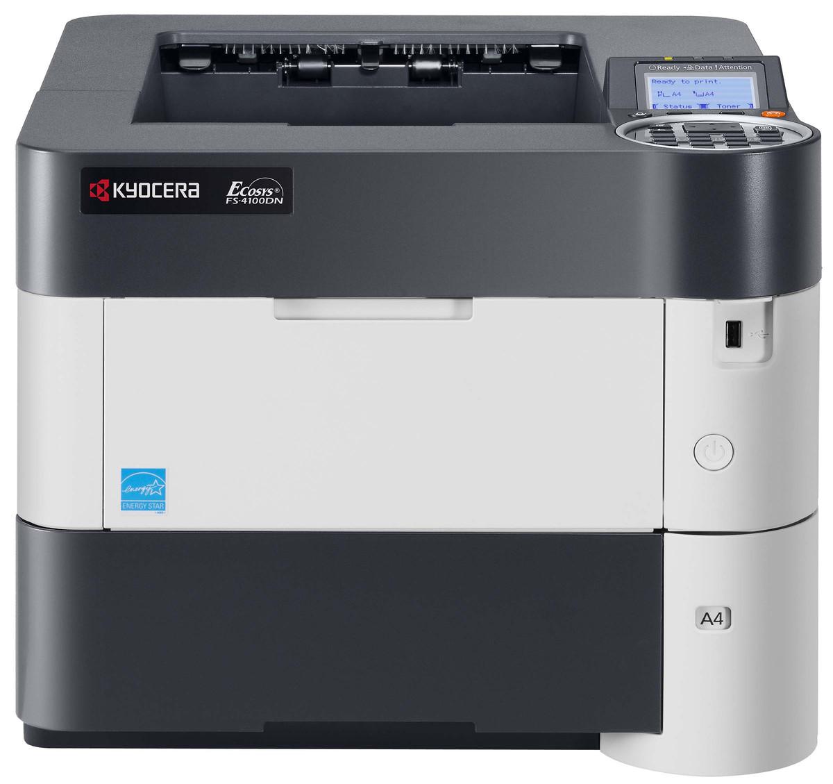 Kyocera FS4100dn Laser Printer