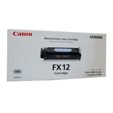 Canon FX-12 Black Toner Cartridge