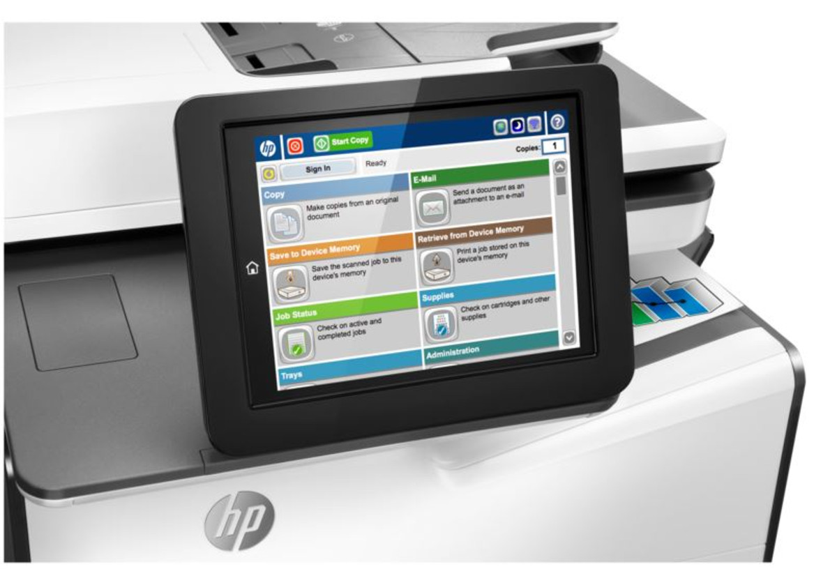 HP PageWide Enterprise MFP 586dn
