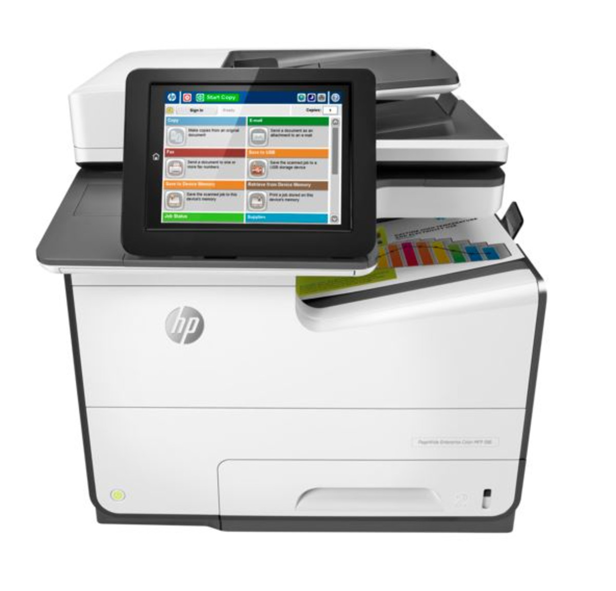 HP PageWide Enterprise MFP 586f