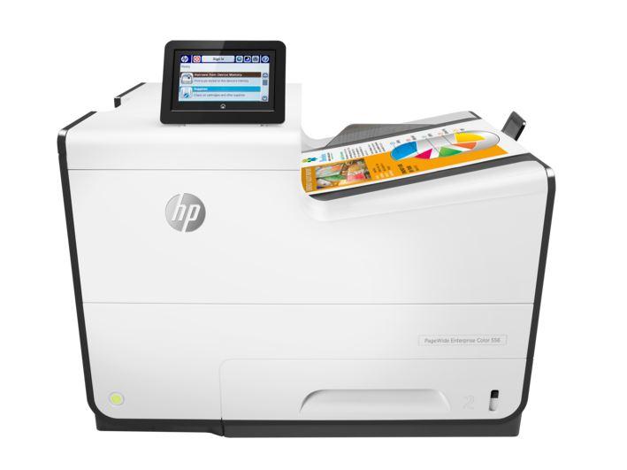 HP PageWide Enterprise MFP 556DN Printer