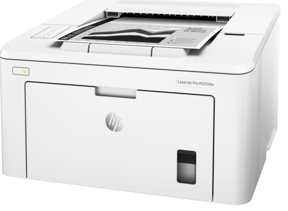 HP LaserJet Pro M203dw Mono Laser Printer