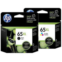 HP 65XL Black and Colour Ink Cartridge Combo Pack