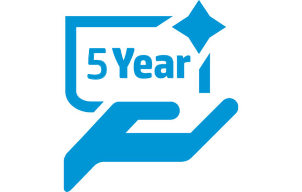 HP 5 Years, 4 Hours Extended Warranty