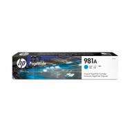 HP 981A (J3M68A) Cyan Pagewide Inkjet Cartridge