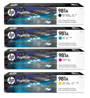 HP No. 981A Pagewide Bundle Pack