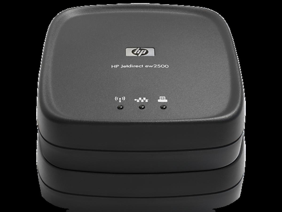 HP Jetdirect EW2500 802.11b/g Wireless Print Server