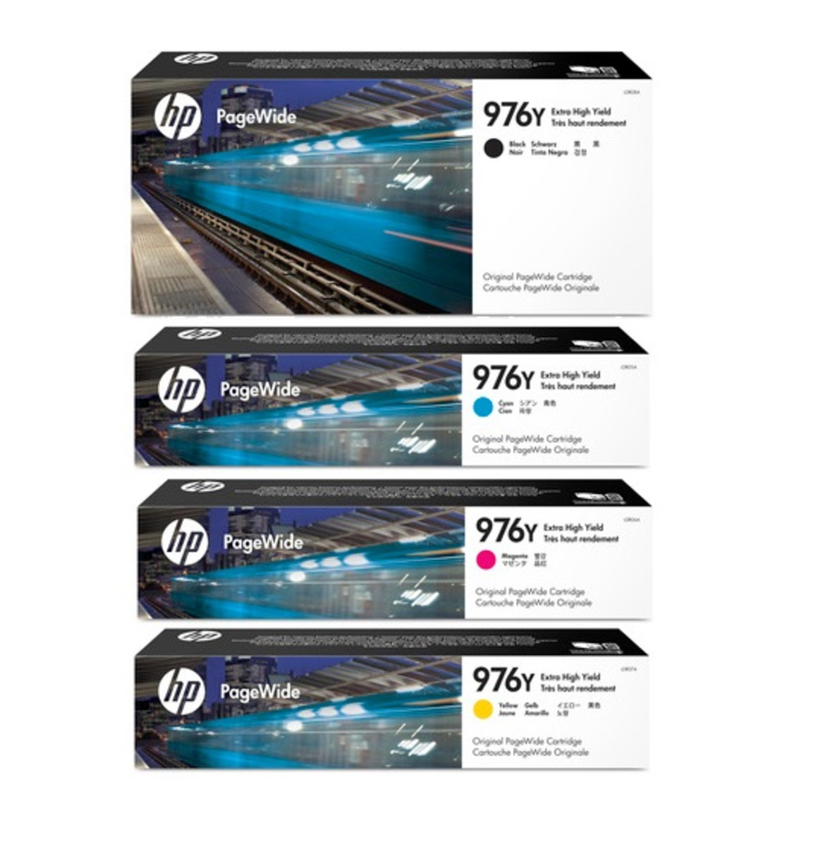 HP No. 976Y Extra High Yield PageWide Bundle Pack