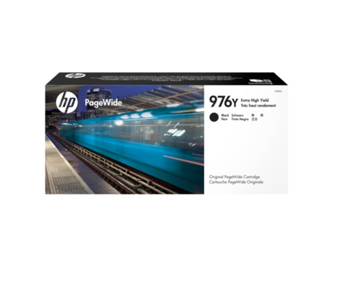 HP 976Y (L0R08A) Extra High Yield Black PageWide Inkjet Cartridge
