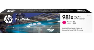 HP 981X (L0R10A) Magenta High Yield Pagewide Inkjet Cartridge