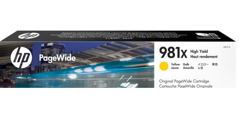 HP 981X Yellow Ink Cartridge (Original)