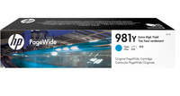 HP 981Y (L0R13A) Cyan Extra High Yield Pagewide Inkjet Cartridge