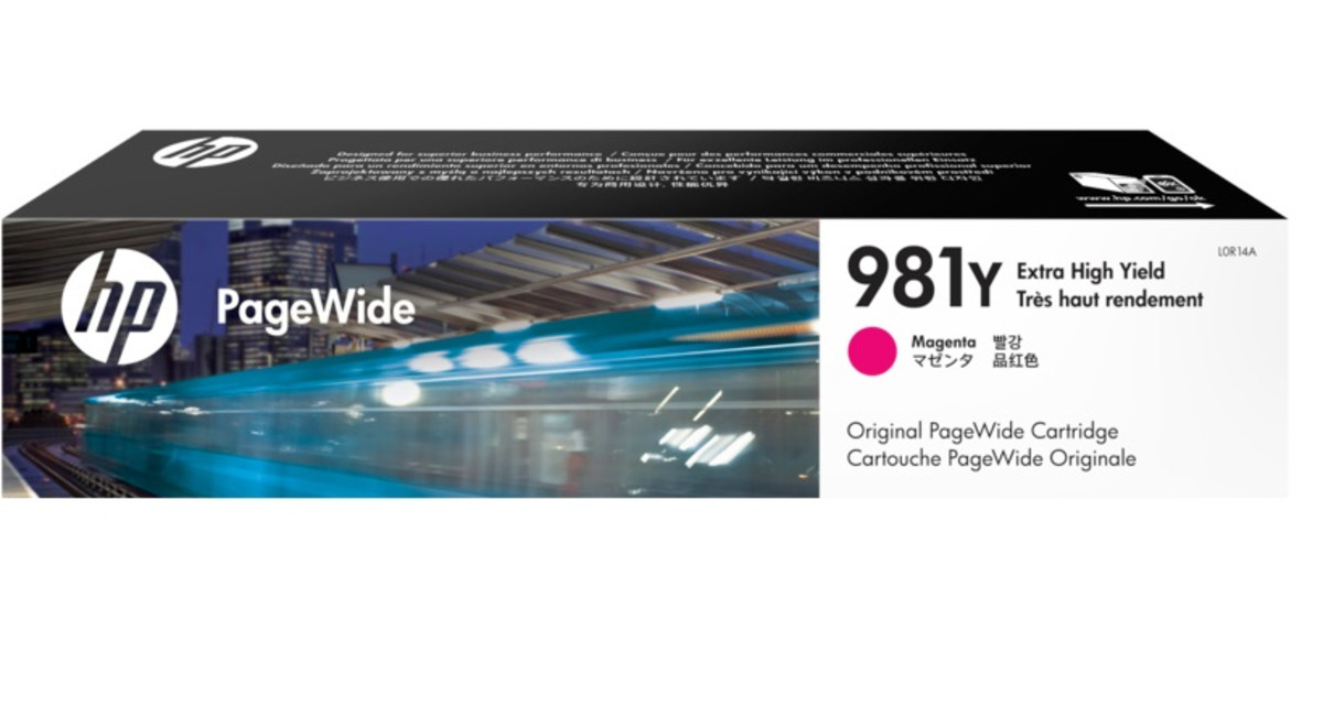 HP 981Y (L0R14A) Magenta Extra High Yield Pagewide Inkjet Cartridge