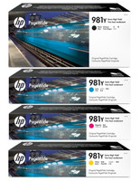 HP No. 981Y Extra High Yield Pagewide Bundle Pack
