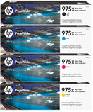 HP No. 975X High Yield PageWide Bundle Pack