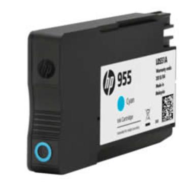 HP 955 (L0S51AA) Cyan Inkjet Cartridge