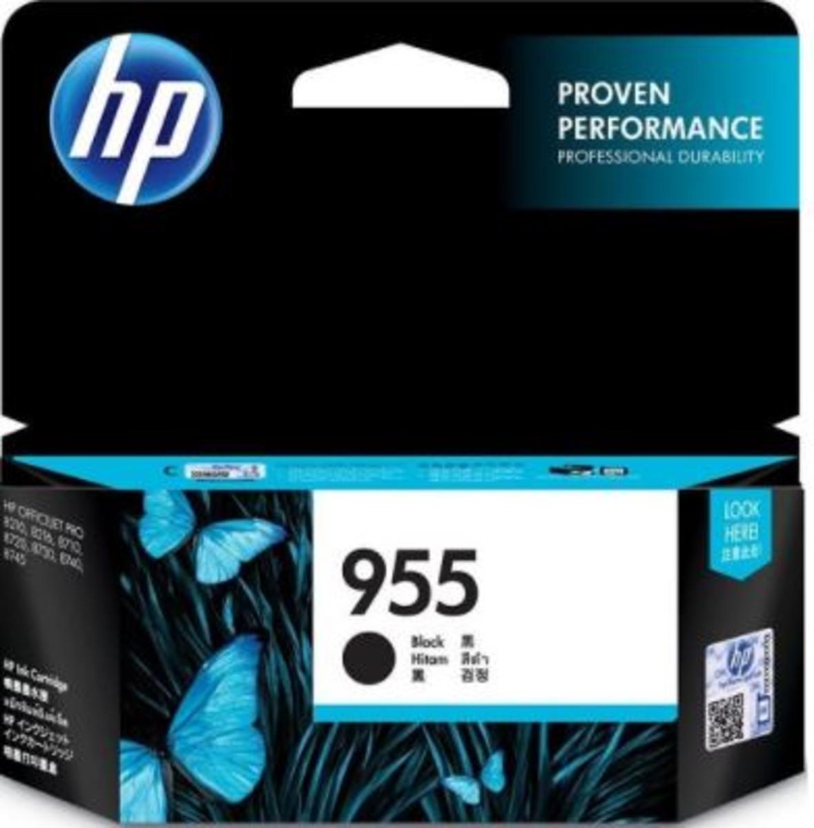 HP 955 (L0S60AA) Black Inkjet Cartridge