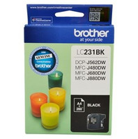 Brother LC-231BK Black Ink Cartridge